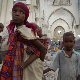 Flüchtlingskinder in Mogadischu