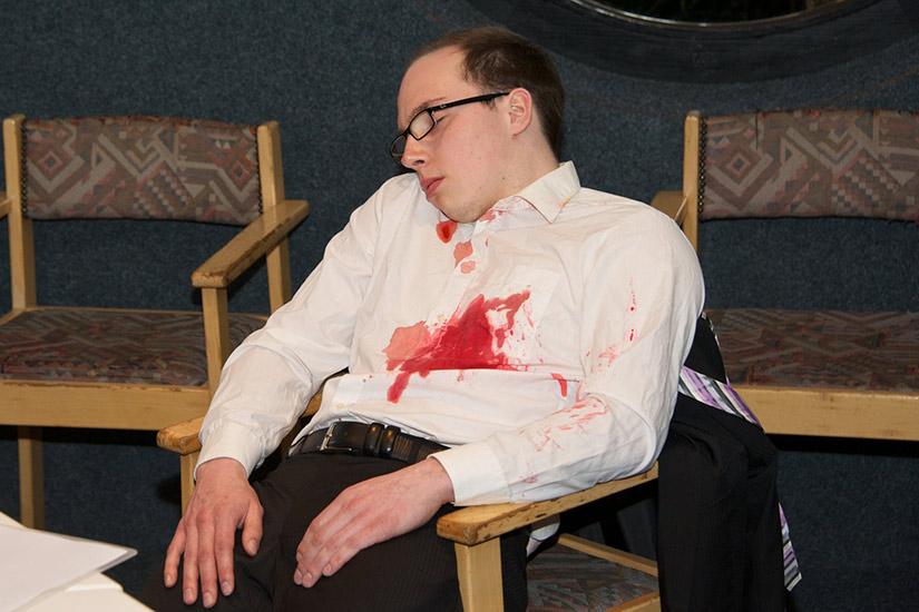 Der ermordete Hoteldirektor